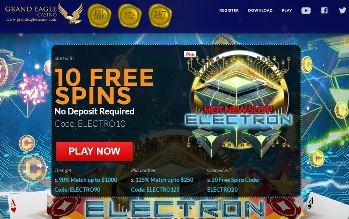 10 Free Spins To Play Electron Video Slot