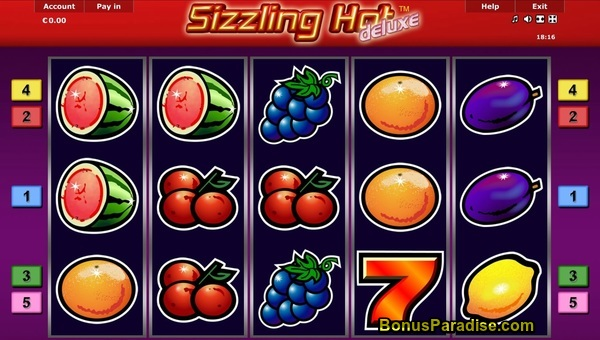 Sizzling Hot Games Zadarmo