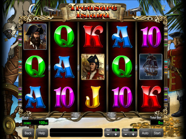 Pirates of Bonus Island 2 Slot - Play it Now for Free