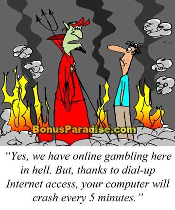 Gambling hell a gamblers share